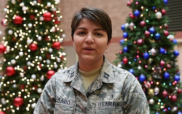 Capt. Amanda Delgado holiday greeting