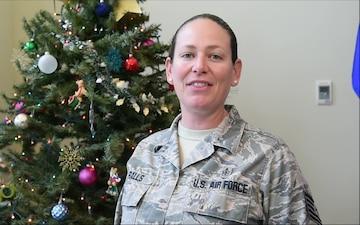 Tech. Sgt. Jamie Ralls holiday greeting