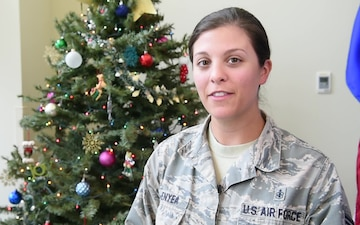 Staff Sgt. Jocelyn Frenyea holiday greeting