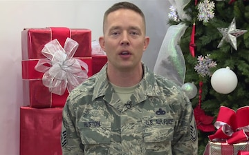 CMSgt Jacob Huston 2016 Holiday Greeting
