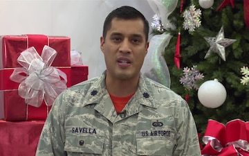 Lt. Col. Gregory Savella II 2016 Holiday Greeting
