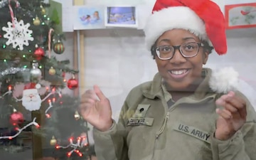 Soldiers Rendition Twas the Night Before Christmas