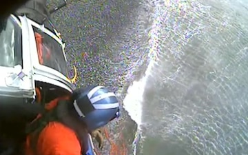 Stranded Diver off Catalina Island