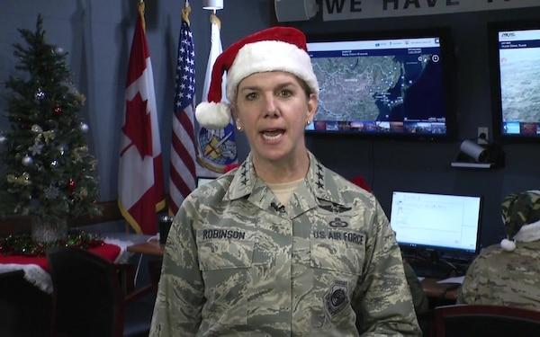Gen. Lori Robinson - NORAD Santa Tracker