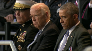 Carter, Dunford Honor Obama at Farwell Ceremony