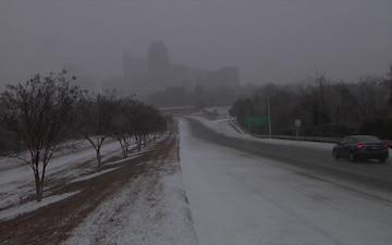 North Carolina National Guard Responds to Winter Storm Helena