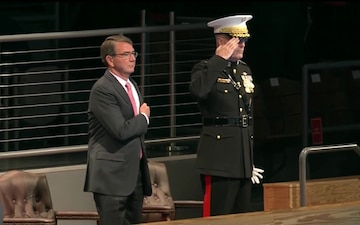 Dunford Hosts Farewell Tribute for Carter