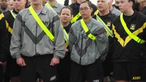 Army Reserve Run B-Roll