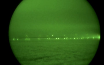 B-2 Takeoff - Night Vision 1
