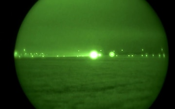 B-2 Takeoff - Night Vision 2