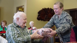 119th Wing Delivers Christmas Cheer