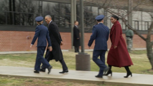 Former POTUS and FLOTUS depart Joint Base Andrews