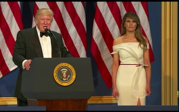 Commander in Chief Speaks at Salute to Our Armed Services Ball