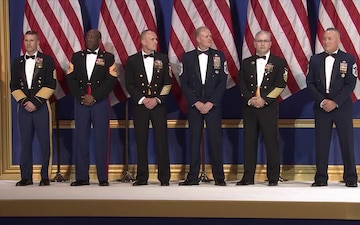 Senior Enlisted Advisors at Salute To Our Armed Services Ball
