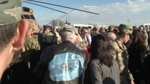 Cannon AFB MH-53J Dedication Ceremony