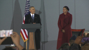 Final Departure of Former President Barack Obama