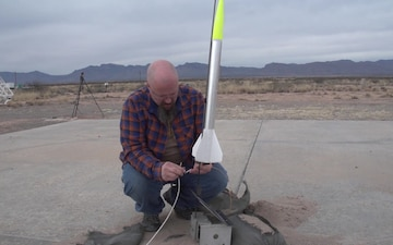 Launch of Calibration target rockets