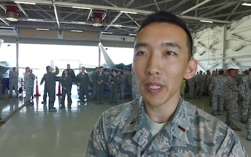 General Rice - Director of the Air National Guard Visits Hawaii Air National Guard Campus.