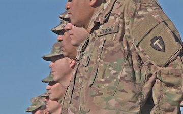 36th infantry Division Soldiers from Texas Deploy to Afghanistan