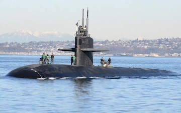 USS Olympia (SSN 717) Arrives in the Pacific Northwest