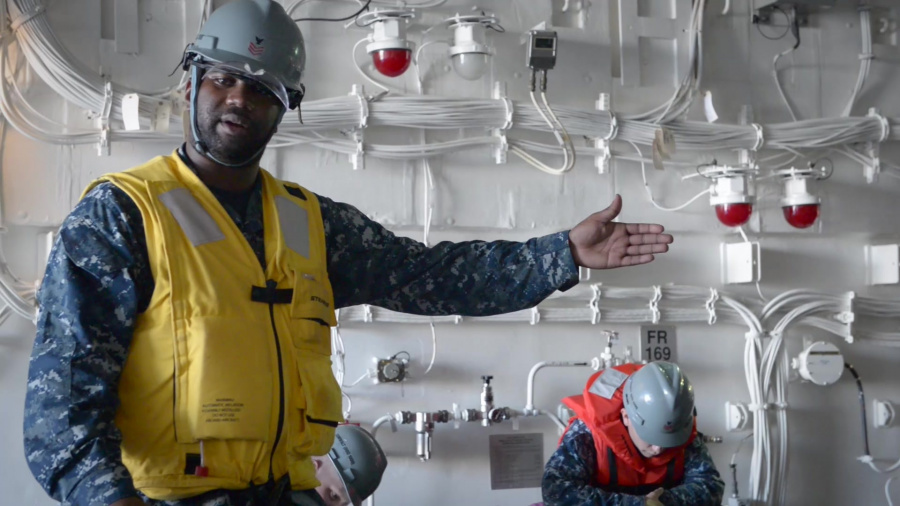A look at the career of Boatswain's Mate 1st Class Brian Nichols and his decision to stay in the Navy.