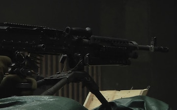 Marine Wing Support Squadron 171 completed M240B machine gun training