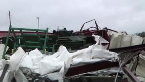 EF3 Tornado Strikes MCLB Albany
