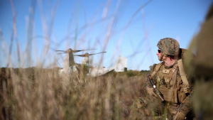 Working Together: U.S. Marines conduct MRX