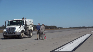 AFCEC Teams Provide Hurricane Response at Seymour Johnson AFB