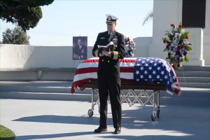 Fort Rosecrans Memorial Service for Rear. Adm. (Ret.) Richard Lyon