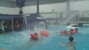 NASA Astronauts Complete Water Survival Training