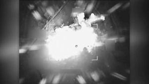 Coalition airstrike destroys an ISIS VBIED factory near Ar Raqqah, Syria.