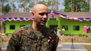 MWSS Marines complete school room with Thai, Japanese counterparts