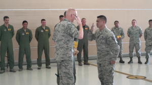 199th and 19th Fighter Squadrons Hold First Ever Dedicated Crew Chief Ceremony