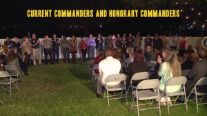 Honorary Commanders Induction Ceremony