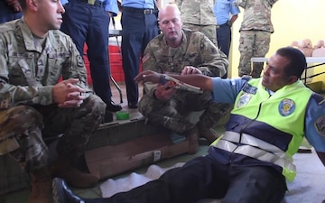 JSF, MEDEL participate in SMEE with Local Police Department