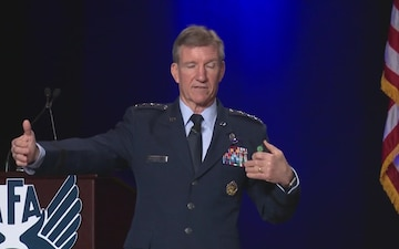 2017 Air Warfare Symposium, C2 and Fusion Warfare - General Hawk Carlisle