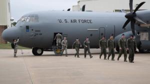 19th Air Force Commander Delivers Final C-130J