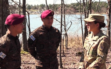 Kaibiles From Guatemalan Army Participate in Arkansas Army National Guard Competition