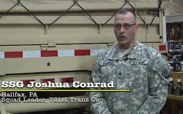 721st Transportation Company offers opportunities for soldiers