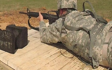 Texas National Guardsmen compete for Best Warrior at weapons qualification range