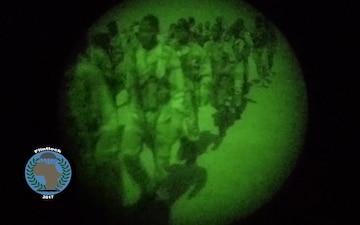 Flintlock 2017 Night Fire Exercise in Niger