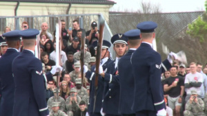 USAF Honor Guard Drill Team at Keesler AFB's Drill Down News