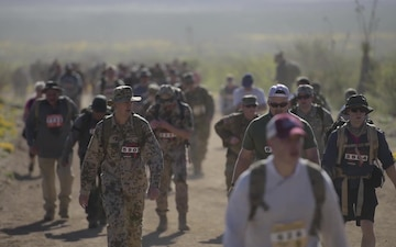 2017 Bataan Memorial Death March B-Roll