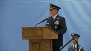 General Goldfein speaks at CMSAF Cody's retirement