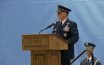General Goldfein speaks at CMSAF Cody's retirement