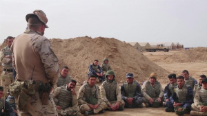 Iraqi security forces Checkpoint training