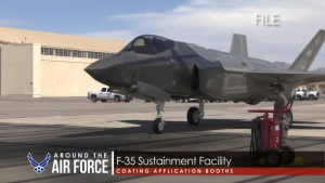 Around the Air Force: 70th Anniversary Website / F-35 Sustainment Facility
