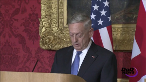 Mattis, British Defense Secretary Discuss Partnership