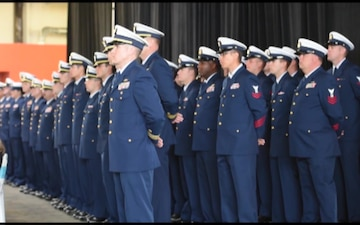 Coast Guard Cutter Munro Commissioning Ceremony